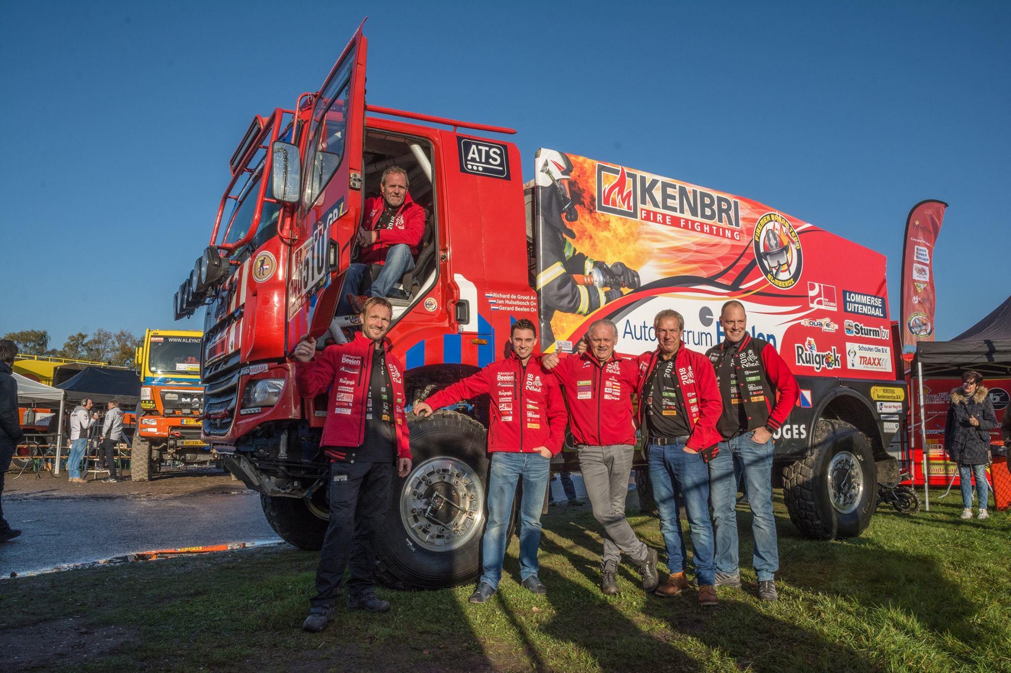 Dakar 2018 - Team Fireman