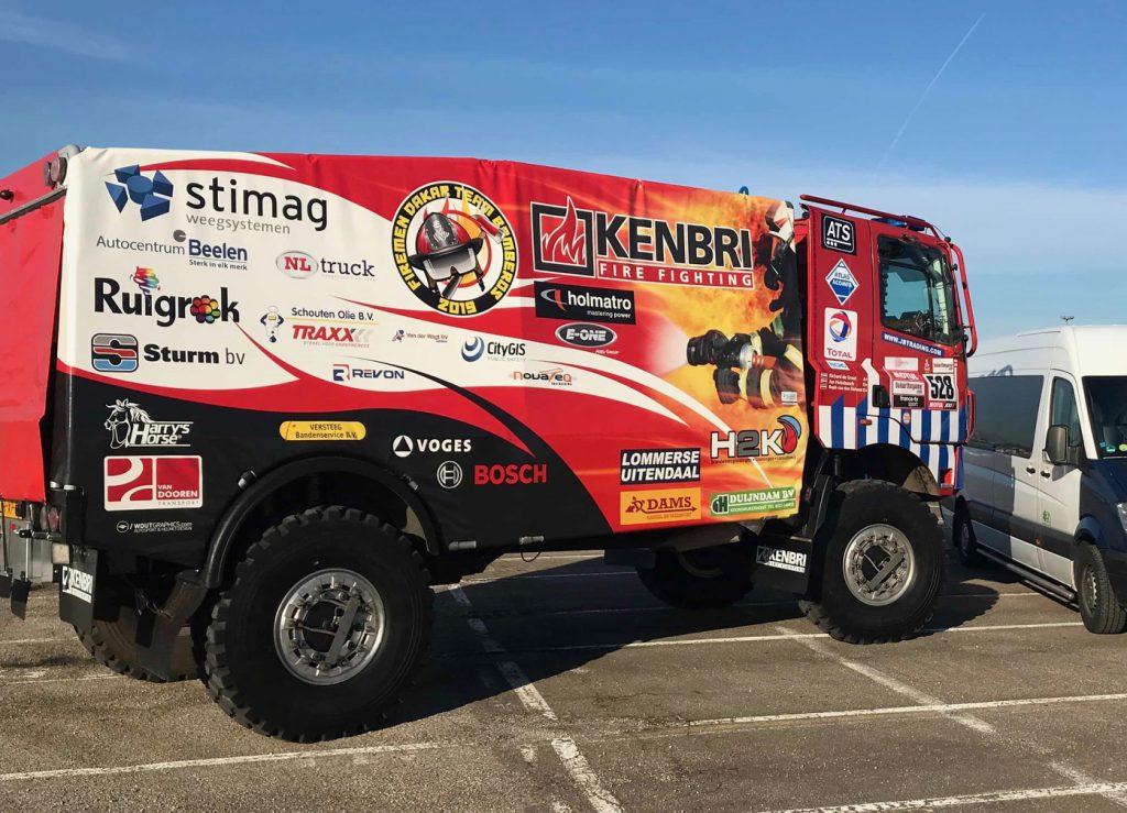 Firemen Team Dakar 2019 - 01